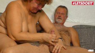 LETSDOEIT - Chubby Mature German Lady Rides A Big Cock