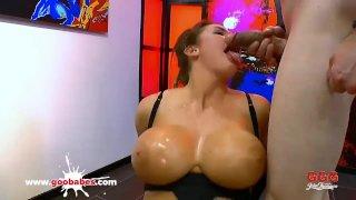 Big Tits Babe Chloe LaMoure is Horny for Big dicks - German Goo Girls