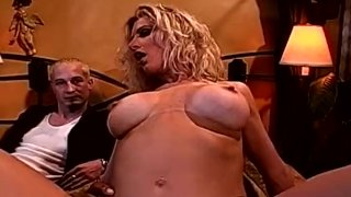 BBC For Big Boob Blonde Wife