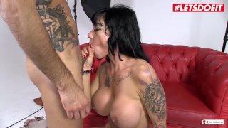 LETSDOEIT - Busty Spanish Pornstar Picks Up Amateur Guy To Fuck Him Hard