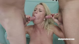 ShadyProducer – Shady Producer tests Czech girl with dildo before 3some