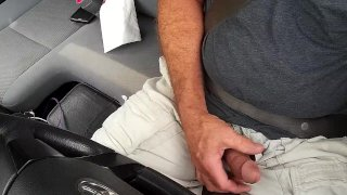 Driving and cumming!