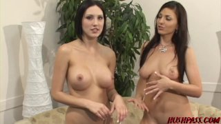 Gorgeous dyke Mindy fingered by latina babe after rimjob