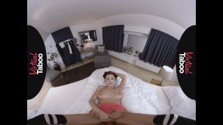 VIRTUAL TABOO - Sister Finds Brother's Dick Too Big To Resist