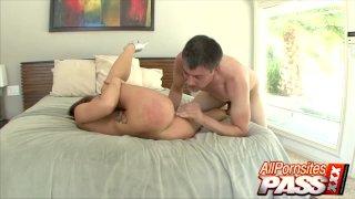 Brunette Babe Britney Brooks Hot Sex Scene