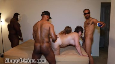 Interracial squirting porno