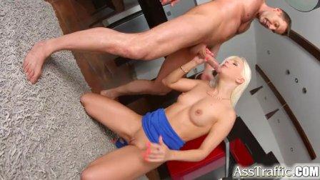 Ass Traffic Anal sex for sexy Jessie Volt