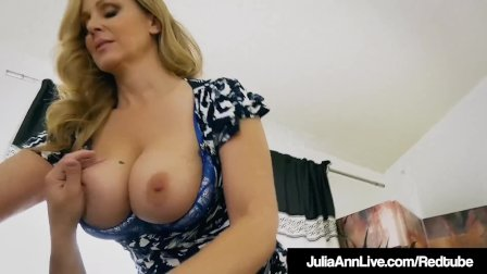 Step Mommy Julia Ann Opens Mouth For Step Son s Cum!