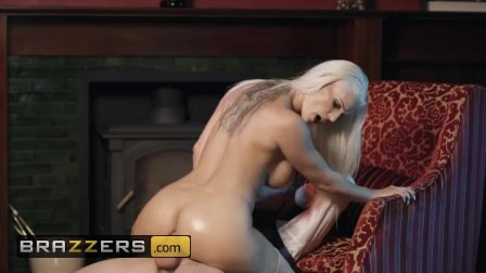 First class euro slut Blanche Bradburry gets her asshole - Brazzers