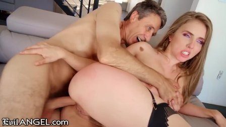 EvilAngel PAWG Lena Paul s Fat Cock Anal Injection