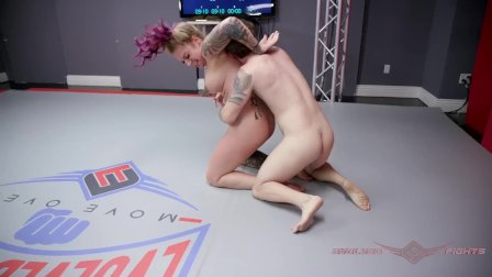 Tori Avano nude wrestling fight and face fuck at Evolved Fights