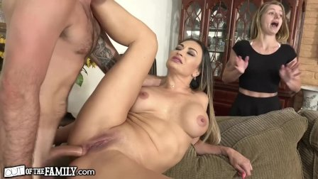 Cougar Caught Ass-Fucking Son-In-Law! She is Starving 4 Cock!