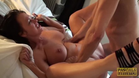 PASCALSSUBSLUTS - Sub MILF Jessie Jo squirts before creampie