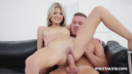 Private - Hot Blonde Gina Gerson Ass Fucked & Cummed On!
