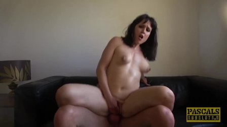 PASCALSSUBSLUTS - MILF Lucy Love riding hard for maledom cum