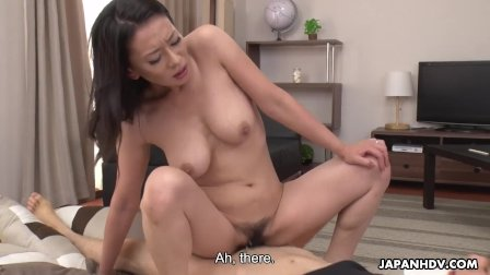 Japanese mature  Rei Kitajima likes it doggy- style and uncensored