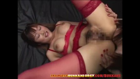 Japanese girls extreme Cum play - Japanese Bukkake Orgy