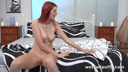 Loud Orgasms With Freckled Hottie