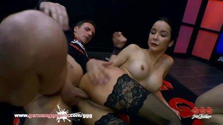Francy Belle fucked by huge dicks - German Goo Girls