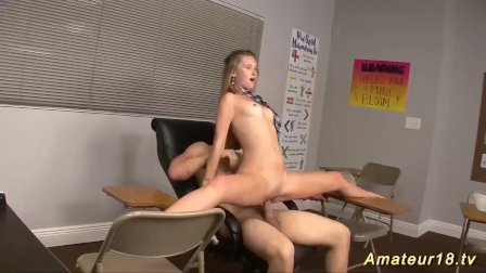flexi contortion sex at the classroom