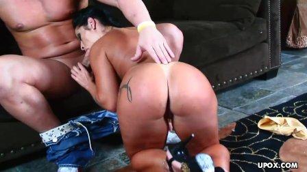 Gorgeous Latin MILF  Monica Santiago got assfucked good