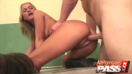 McKenzee Classroom Fucking Ends With Cum In Mouth