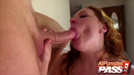 Big Tits Redhead Rebecca Lane Blowjobs