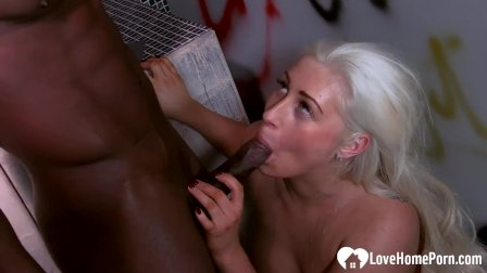 She could not have enough of my BBC