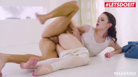 LETSDOEIT - Brunette Czech Babe Ela Nek Oil Massage And Hot Fuck