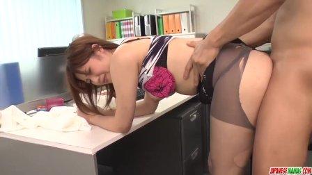 Yumi Maeda gets naughty at work and fucks her b - More at Japanesemamas com