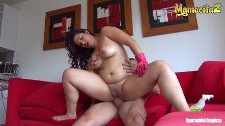 MamacitaZ - Chubby Latina Maid Ana Mesa Fucked Hard By Big Dick Guy