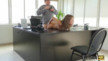 LOAN4K. College trip is expensive so why babe gets fucked for loan