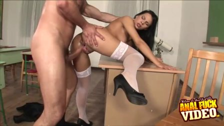 Schools Out For Anal Fucked Student Amabella