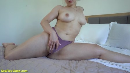 my flexi stepsis first time on video