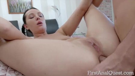 Anal Addict Helena Miles Clamoring for a Creampie
